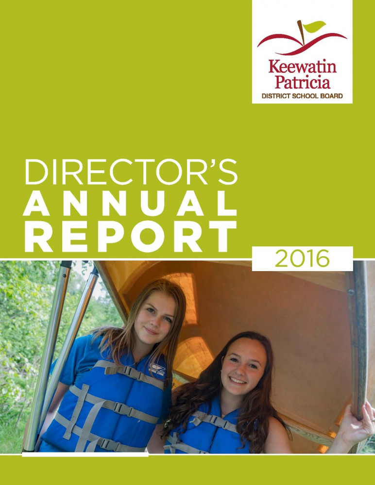 Image of cover of 2016 Director's Annual Report