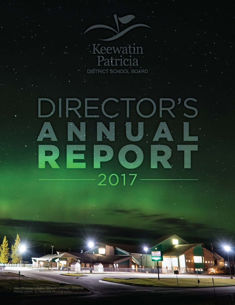 Cover of 2017 Director's Annual Report
