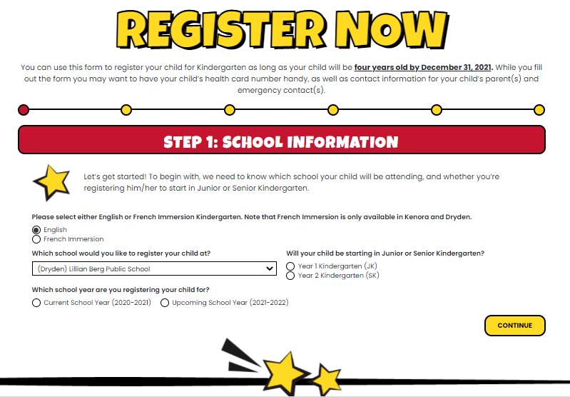 Image of Online Registration